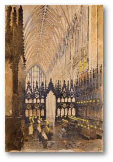 Winchester Cathedral Quire