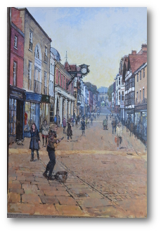 Winchester High Street with Sylva