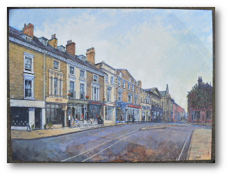 a view of Jewry Street Winchester